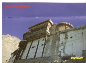 Postal 046845 : Pakistan. Baltit Fort-Hunza