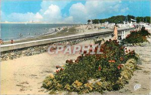 Postcard Modern Jade Cote St Brevin The Beach and Parterres