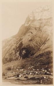 RP: FIELD , B.C. , Canada ,1910-30s