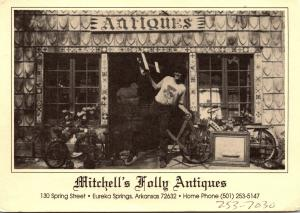 Arkansas Eureka Springs Mitchell's Folly Antiques