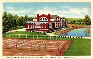 Virginia Charlottesville Gymnasium and Tennis Court University Of Virginia Cu...