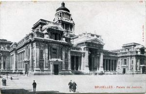 Palace of Justice - Brussels - Bruxelles - Belgium - UDB