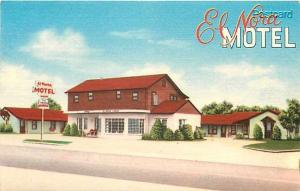 OK, Normand, Oklahoma, El-Nora Motel, Nationwide Post Card Company