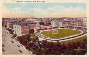 COLUMBIA UNIVERSITY, NEW YORK CITY showing the athletic field 1926