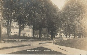 RP; MILFORD , NEW HAMPSHIRE , 1910 ; Souhegan Street