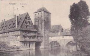 Germany Nuernberg Henkersteg 1908