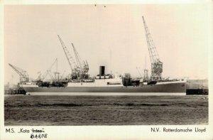 Ship M.S. Kota Baroe N.V. Rotterdamsche Lloyd Nautica 03.03
