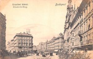 Budapest Republic of Hungary Erzsebet Korut, Elisabeth Ring Budapest Erzsebet...