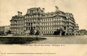 DC - Washington. War and Navy Building circa 1900