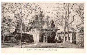 Connecticut Hartford  ,  Residence Samuel L. Clemens , ( Mark Twain )