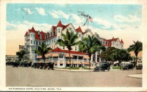 Florida Miami Hotel Halcyon 1923 Curteich