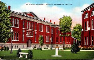 Indiana Valparaiso University Campus 1946