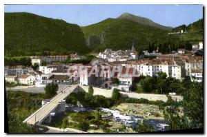 Postcard Old Amelie PO Pearl Bains des Pyrenees General View