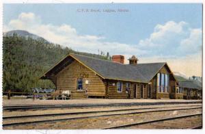 C.P.R. Depot, Laggan Alberta