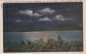 Georgia Hiawassee Moonlight Scene On Lake Chatuge