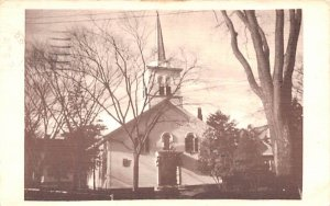 First Baptist Church Rockport, Massachusetts Postcard