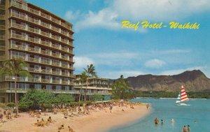 Reef Hotel , Waikiki Beach , Oahu, Hawaii, 1950-60s
