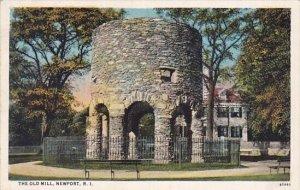 The Old Mill Newport Rhode Island 1928