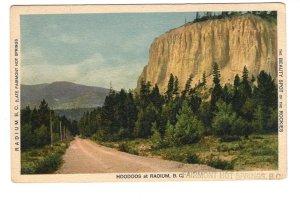 Hoodoos, Radium, Airmont Hot Springs, British Columbia