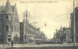 Eighth Ave Calgary, Alta Canada 1911