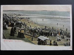 BRIDLINGTON Beach Entertainment NORTH SANDS c1904 Postcard STATION OFFICE PM