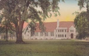 Heldelberg College Commons For Men Tiffin Ohio Albertype Handcolored