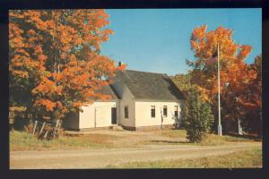 Plymouth, Vermont/VT Postcard, School House Attended By Calvin Coolidge