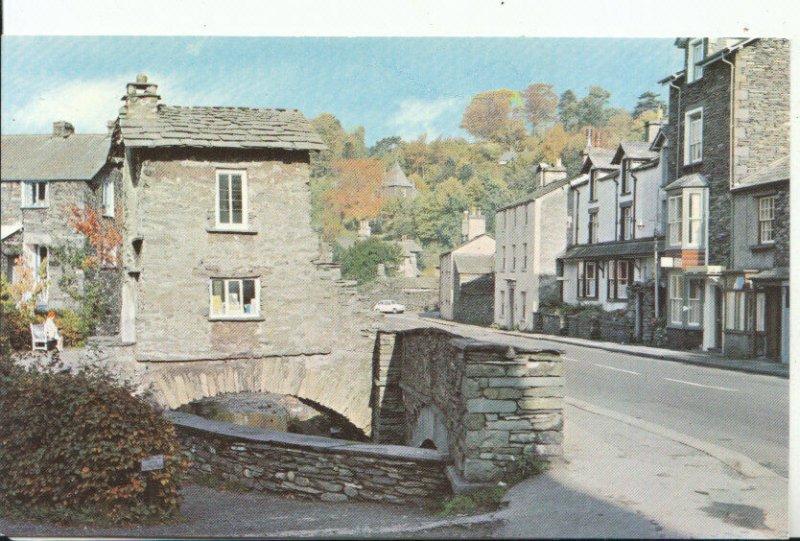 Cumbria Postcard - Bridge House - Ambleside - Ref 11894A