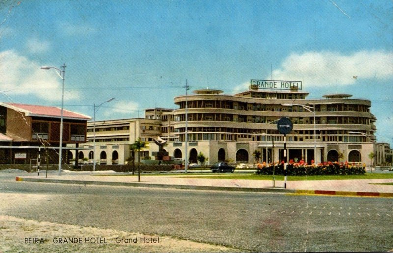 Mozambique Beira The Grand Hotel 1961