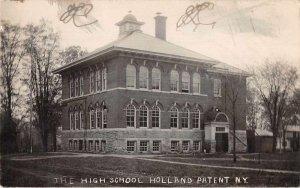 Holland Patent New York High School Real Photo Vintage Postcard JJ658904