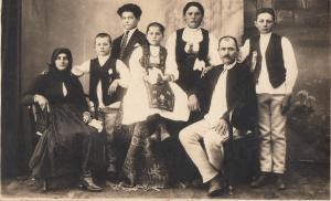 Romania Transylvania types family social history photo Emil Heiter Turda Cluj