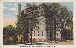 Street view,  Hospital of the Good Shepherd,  Syracuse,  New York,   PU_1917