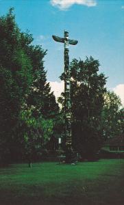 Totem Pole In The Park, Kelowna, British Columbia, Canada, 1940-1960s