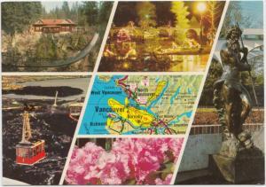 NORTH SHORE ATTRACTIONS, North Vancouver, B.C., Canada, unused Postcard