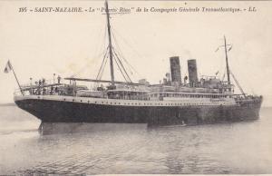 SAINT-NAZAIRE , France , 00-10s ; Le PUERTO RIAO Ocean Liner