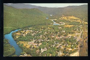 Gorham, New Hampshire/NH Postcard, Aerial View, Androscoggin River
