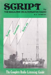 Dutch Holland Pirate Ship Radio Ends Caroline 1974 Rare Enthusiasts Magazine