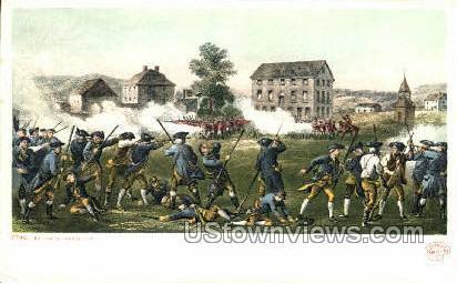 Battle of Lexington Lexington MA Unused