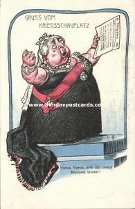 BOER WAR, Caricature, Queen Victoria wants her Mules Back (1899)