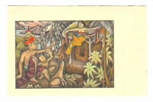 Balinese drawing , Indonesia, 30-50s