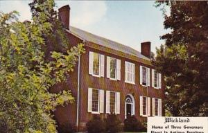 Kentucky East Bardstown Wickland Home Of Three Governors