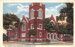 M E Church and parsonage  Rochester,  MN