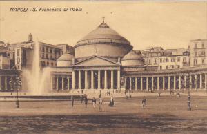 Italy Napoli San Francesco di Paola