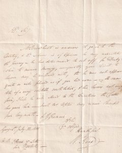 Doctor Victorian Letter Derby Patient Weymouth Dorset 1805 Medical Ephemera