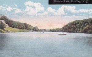 BRADLEY, New York, 1900-10s; Krum's Lake, Row Boats
