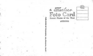 RPPC James Marshall Monument, Coloma, CA Gold Rush c1940s Vintage Postcard