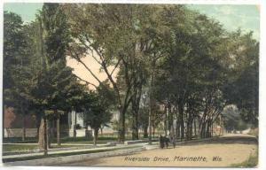 Riverside Drive, Marinette, Wisconsin, PU-1909