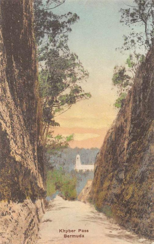 Bermuda Khyber Pass Antique Postcard J59106