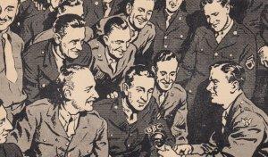 American Red Cross , Rainbow Corner B.B.C. Radio Show , UK , 1940