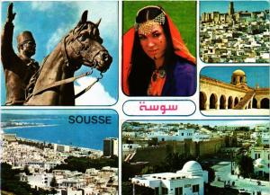 CPM TUNISIE Souvenir de Tunisie Sousse (258559)